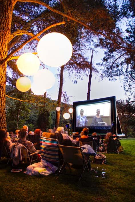 Outdoor Theater Screen Rental
